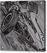 Jim Clark At Monaco 64 Acrylic Print