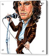 Jim Morrison Acrylic Print by Art