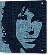 Jim Morrison The Doors Acrylic Print
