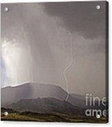 Jim Mountain Storm Acrylic Print