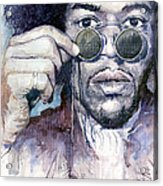 Jimi Hendrix 08 Acrylic Print
