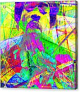 Jimi Hendrix 20130613 Acrylic Print by Wingsdomain Art and Photography
