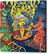 Jimi Hendrix Rainbow Bridge Acrylic Print