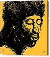 Jimi Hendrix Rock Music Poster Acrylic Print
