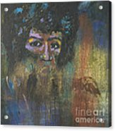 Jimi Hendrix Acrylic Print by Vic  Mastis