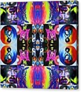 Jimi Kaleidoscope I Acrylic Print