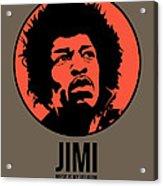 Jimi Poster 1 Acrylic Print