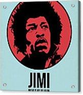 Jimi Poster 2 Acrylic Print