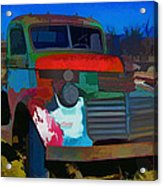 Jimmy In Taos - Abstract Acrylic Print