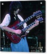 Jimmy Page 1983 Acrylic Print