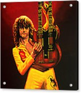 Jimmy Page Painting Acrylic Print