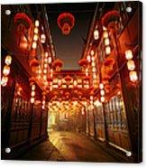 Jinli Street, Chengdu, Sichuan, China Acrylic Print