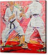 Jiyu Kumite Acrylic Print