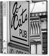 Jo Cats Pub Acrylic Print