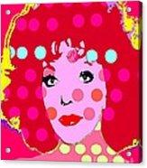 Joan Collins Acrylic Print