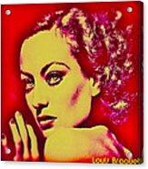 Joan Crawford Acrylic Print
