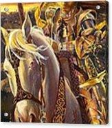 Joan D'arc Acrylic Print by Lynette Yencho
