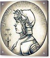 Joan Of Arc - Original Acrylic Print