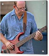 Jocelyn Godfrey Bass Player 2 Acrylic Print