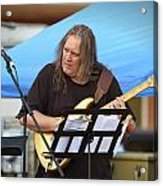 Jocelyn Godfrey Guitarist 1 Acrylic Print