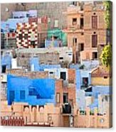 Jodhpur - Rajasthan - India Acrylic Print