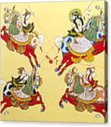 Jodhpur Polo Acrylic Print