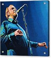 Joe Cocker Painting Acrylic Print
