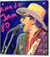 Joe Ely Acrylic Print by GCannon