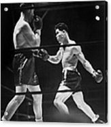 Joe Louis Right In Boxing Match Acrylic Print