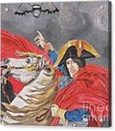 Joe Perry On Horse Acrylic Print