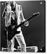 Joe Strummer At Clash Final Concert Acrylic Print
