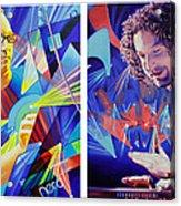Joel And Andy Acrylic Print by Joshua Morton