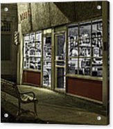 Joe's Barber Shop Acrylic Print