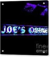 Joe's Corner Acrylic Print