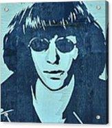 Joey Ramone Acrylic Print