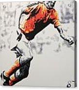 Johan Cruyff - Holland Acrylic Print
