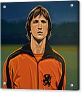 Johan Cruyff Oranje Acrylic Print