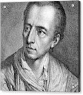 Johann Joachim Winckelmann (1717-1768) Acrylic Print