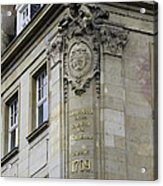 Johann Maria Farina Factory 1709 Cologe Germany Acrylic Print