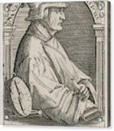 Johann Stoffler (1452 - 1531) German Acrylic Print