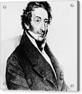 Johann Von Malfatti Acrylic Print