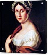 Johanna Wagner (1774-1848) Acrylic Print