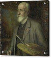 Johannes Gijsbert Vogel 1828-1915 Acrylic Print