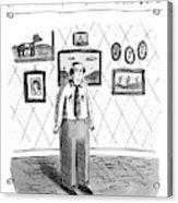 John B.; Best Entertainment Value For Under $1.79 Acrylic Print