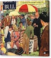 John Bull 1956 1950s Uk Schools Acrylic Print by The Advertising Archives
