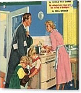 John Bull 1957 1950s Uk Cooking Acrylic Print by The Advertising Archives