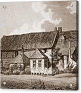 John Bunyans Meeting House, Early 19th Acrylic Print