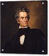John C Calhoun Acrylic Print