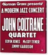 John Coltrane Quartet In Sweden Acrylic Print