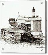 John Deere Crawler Acrylic Print